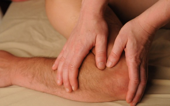Deep tissue massage for elbow pain