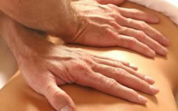 Myofascial release of lower back for lower back pain